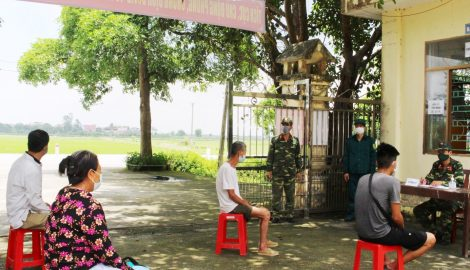 Nam Định : Ghi nhận thêm 1 ca dương tính với SASR-CoV-2