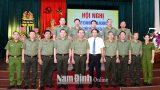 Nam Định Sơ kết 2 năm thực hiện Đề án bố trí Công an chính quy đảm nhiệm chức danh Công an xã