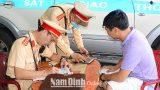 Nam Định Đảm bảo an toàn giao thông trong tháng cao điểm