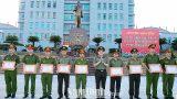 Nam Định : Công an tỉnh biểu dương khen thưởng các tập thể, cá nhân điển hình trong đấu tranh trấn áp tội phạm