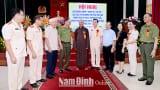 Nam Định Tiếp tục đẩy mạnh phong trào toàn dân bảo vệ an ninh Tổ quốc vùng đồng bào các tôn giáo