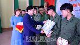 NAM ĐỊNH -Sáng mai, 3-3, toàn tỉnh bàn giao 2.550 tân binh lên đường nhập ngũ