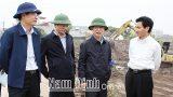 Nam Định: Đồng chí Chủ tịch UBND tỉnh kiểm tra tiến độ dự án xây dựng tuyến đườɴɢ ᴛʀụᴄ ᴘʜáᴛ ᴛʀɪểɴ