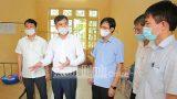Kiểm tra, chỉ đạo công tác phòng chống dịch COVID-19 tại huyện Mỹ Lộc