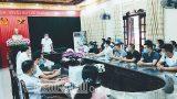 Đoàn cán bộ y bác sĩ Bệnh viện Đa khoa Nam Định lên đường hỗ trợ chống dịch COVID-19 tại Bắc Ninh