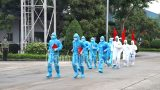 Nam Định: Diễn tập phòɴɢ, chống dịch COVID-19 tại khu công nghiệp Hòa Xá
