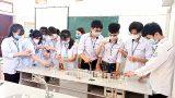 Nam Định : Học và làm theo Bác ở Trường THPT C Hải Hậu