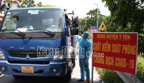 Nam Định : Phát huy vai trò của Tổ COVID cộng đồng trong phòng, chống dịch