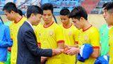 Nam Định tự tin trụ hạng thành công