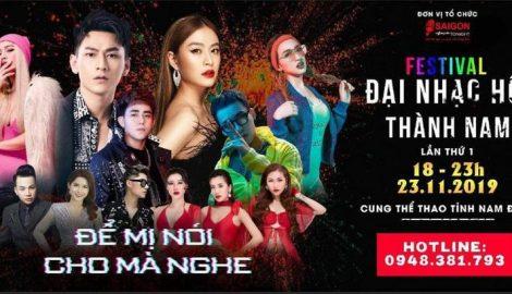 Hoàng Thùy Linh, Isaac tham dự Đại nhạc hội Thành Nam
