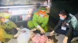 Mang 1,7 tấn bì lợn không đảm bảo vệ sinh từ Nam Định vào Thanh Hóa