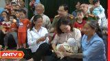Công an Nam Định thăm, tặng quà cô nhi viện Dục Anh