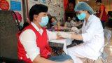 Người dân Nam Định tham gia hiến máu an toàn trong mùa dịch COVID-19