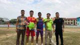 Tranh thủ trước AFF Cup 2018, Nam Định làm từ thiện ở vùng bị lũ quét tại Lào Cai