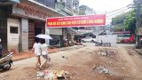Tp. Nam Định: Người dân phản đối chính quyền tiếp tục cho xây chợ tạm dưới lòng đường