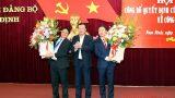 Nam Định có Trưởng Ban Nội chính và Trưởng Ban Dân vận mới