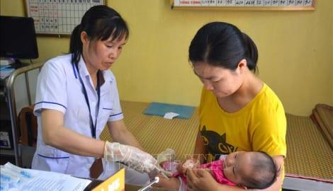 Nam Định triển khai tiêm vắc xin mới cho trẻ em dưới 1 tuổi