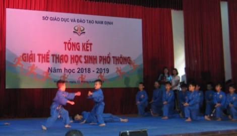 Nam Định: Nhiều học sinh đạt thành tích cao tại giải thể thao