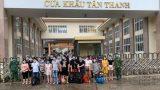 Phát hiện 25 người nhập cảnh trái phép vào Việt Nam