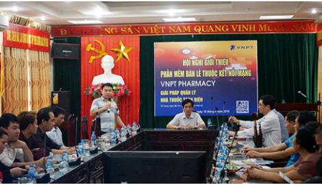 Phần mềm VNPT Pharmacy được giới thiệu tại Nam Định