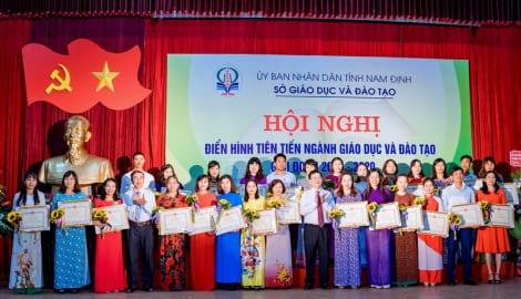 Nam Định Lá cờ dẫn đầu về chất lượng Giáo dục hơn 25 năm