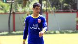 Thủ môn Nguyễn Minh Nhựt quyết tâm làm lại
