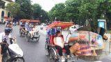 Tài xế xích lô Nam Định bị tố trả tiền âm phủ cho khách Tây