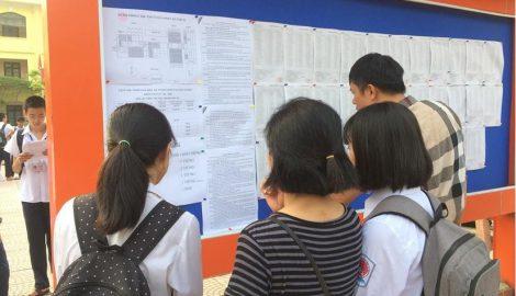 Nam Định công bố điểm thi THPT quốc gia 2019