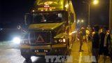 Nam Định: Băng qua đường quốc lộ, một người bị cuốn vào gầm xe
