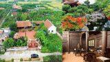 """""""Biệt phủ"""" 1.700m2 toàn cây cảnh bạc tỷ của gia đình ở Nam Định"""
