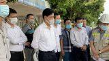 Đồng chí Nguyễn Ngọc Đông, Thứ trưởng Bộ Giao thông vận tải và đoàn công tác của Bộ Giao thông vận tải làm việc với tỉnh Nam Định