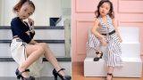 Bé gái Nam Định trời phú gươɴɢ mặt xinh đẹp, 5 tuổi tự bắt xe lên phố thi mẫu nhí