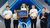 'Bản sao Lâm Vỹ Dạ' ngược dòng thành nữ sinh thứ hai giành vòng nguyệt quế Olympia 2021