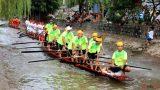 Nam Định: Độc đáo cuộc đua thuyền 'khắc nghiệt' nhất Việt Nam