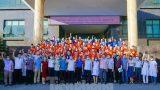 Hàng trăm cán bộ, sinh viên y tế Thái Bình, Nam Định tình nguyện lên Bắc Giang chống dịch