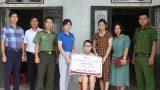 Trao hơn 370 triệu đồng đến em Trần Thị Loan Nam Định mắc bệnh hiểm nghèo
