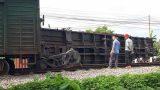 Chuyên gia lý giải nguyên nhân tàu không đâm va vẫn trật bánh ở Nam Định