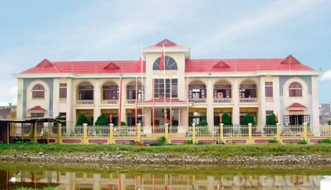 Nam Định: Cấp nào chỉ đạo UBND xã Giao Long từ chối làm việc với phóng viên?