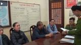 Nam Định: Bắt giam 4 cựu 'quan xã' bán đất trái thẩm quyền