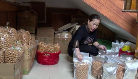 Nam Định: Làng nghề bánh nhãn Hồi Xuân vào vụ Tết