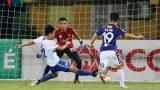 """Vòng 16 V-League: Hà Nội FC thắng nhọc, Nam Định thoát cảnh """"đội sổ"""""""