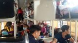 Xe giường nằm 40 chỗ biển Nam Định nhét 72 người