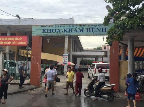 Khoa khám bệnh, bệnh viện đa khoa tỉnh Nam Định