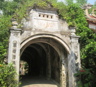 Cầu Núi tại chùa Cổ Lễ