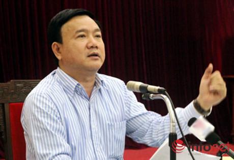 Ông Đinh La Thăng được Bộ Chính trị cử làm Bí thư Thành ủy TP.HCM cách đây hơn 2 tháng. (Ảnh: Xuân Tùng)
