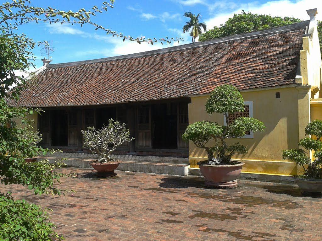 Ngôi nhà giản dị như bao ngôi nhà của người dân Việt Nam
