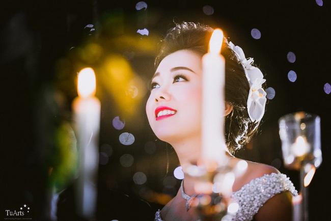 Cô dâu rạng ngời và xinh đẹp trong ngày vui của mình