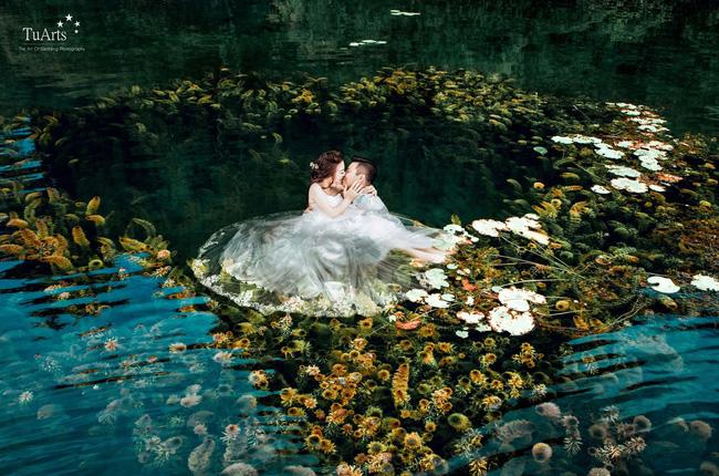 Bộ ảnh cưới xuyên Việt với chi phí 250 triệu đồng