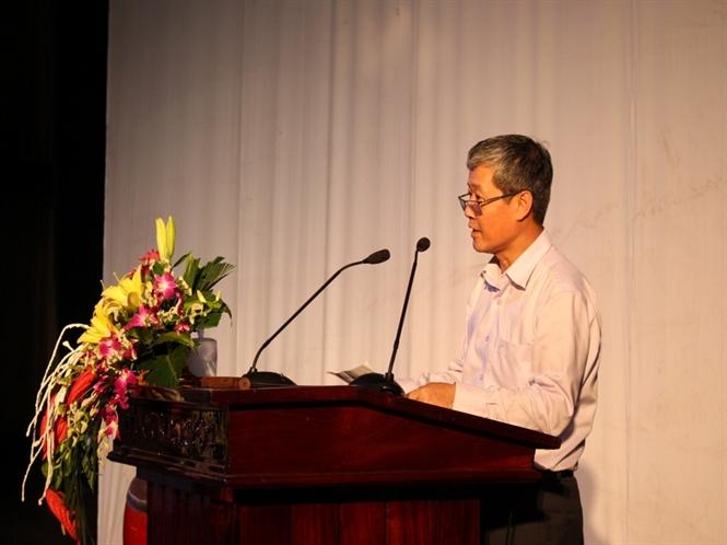 Thứ trưởng Nguyễn Thành Hưng phát biểu tại buổi lễ...