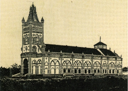 Nhà thờ Mình Thánh Báo Đáp (Ảnh chụp từ báo Nam Kỳ năm 1937)